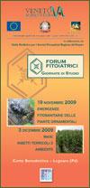 depliant Forum autunnali 2009