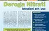 Deroga Nitrati – istruzioni per l'uso