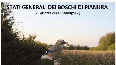 Relazioni convegno STATI GENERALI DEI BOSCHI DI PIANURA – Sandrigo (VI) 26 ottobre 2017