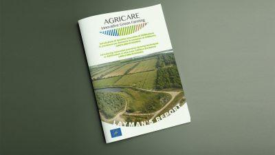 """Progetto LIFE+ AGRICARE """" Introduzione di tecniche innovative di AGRIcoltura di precisione per diminuire le emissioni di CARbonio"""" – Layman's Report"""