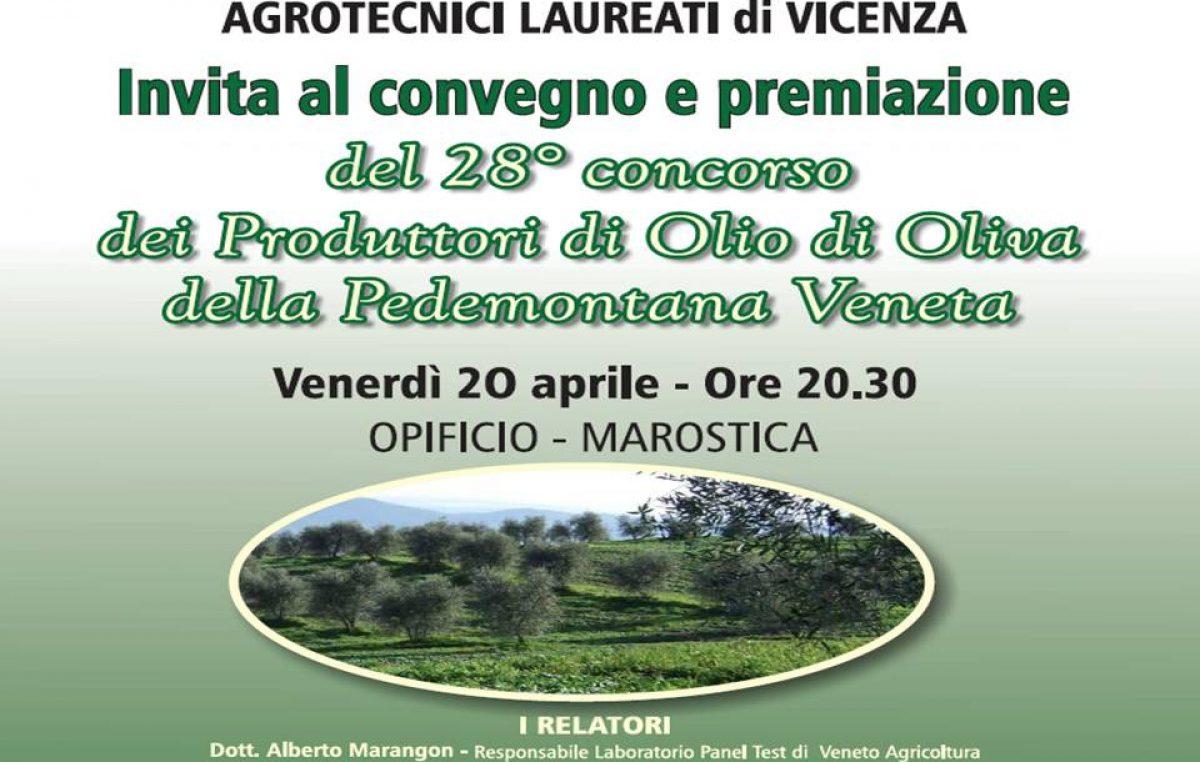 Concorso dei produttori di olio di oliva della pedemontana veneta