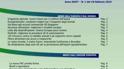 Veneto Agricoltura Europa n. 1/2019