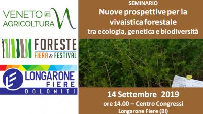 Nuove prospettive per la vivaistica forestale tra ecologia, genetica e biodiversità