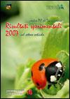 risultati sperimentali 2007