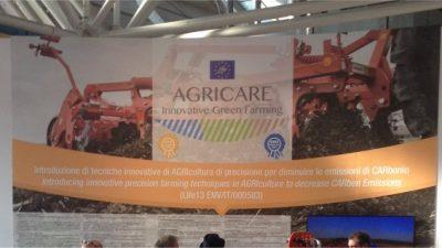 Il Progetto AGRICARE alla Fiera di Bologna EIMA 2016