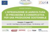 Agricoltura di precisione e conservativa per una produzione sostenibile