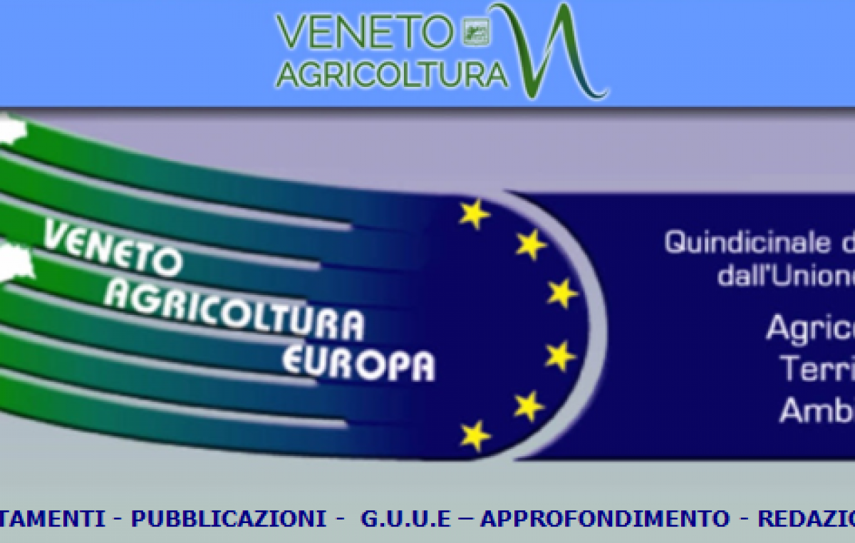 Quindicinale Veneto Agricoltura Europa n. 6/2016