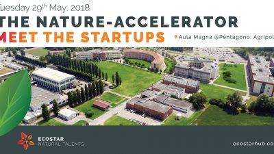 """Innovazione: primo acceleratore d'impresa dell'Università di Padova """"THE NATURE-ACCELERATOR"""""""