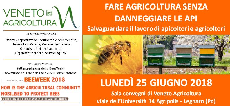Incontro agricoltura senza danneggiare api 25 giugno 2018