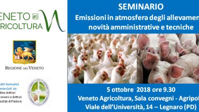 Emissioni in atmosfera degli allevamenti: novità amministrative e tecniche
