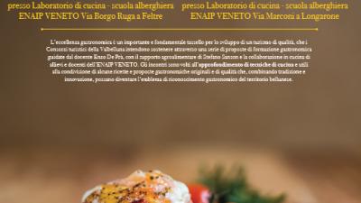 BON DISNAR – attività formative e approfondimenti tecnici riservate agli operatori professionali gastronomici bellunesi