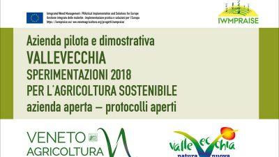 """Azienda pilota e dimostrativa """"ValleVecchia"""" – Sperimentazioni 2018 per l'agricoltura sostenibile"""