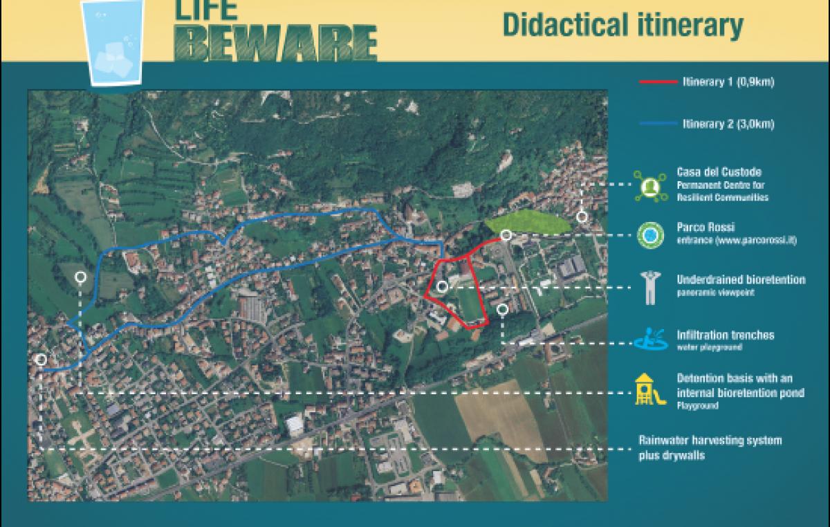 """""""LIFE BEWARE"""", un progetto europeo nel vicentino"""