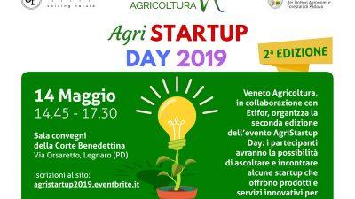 Agri STARTUP DAY 2019 – L'innovazione in agricoltura – Seconda edizione