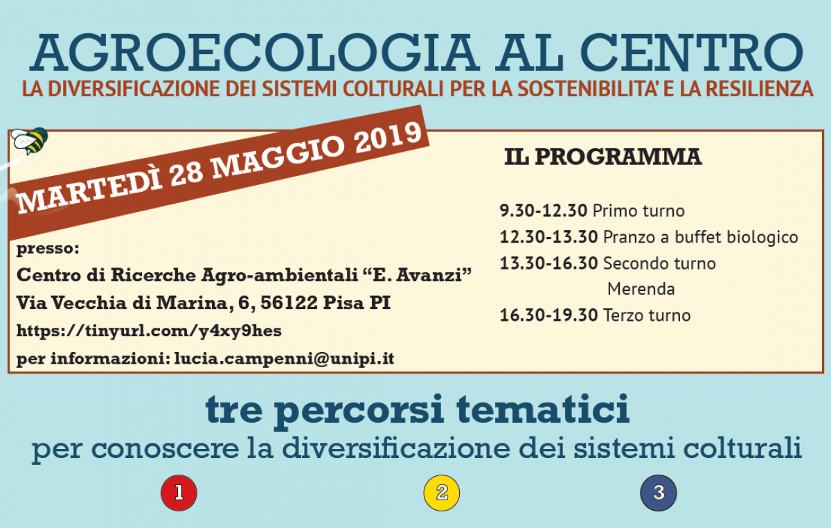 Giornata dimostrativa a Pisa – 28 maggio 2019