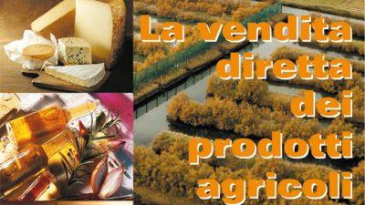 La vendita diretta dei prodotti agricoli