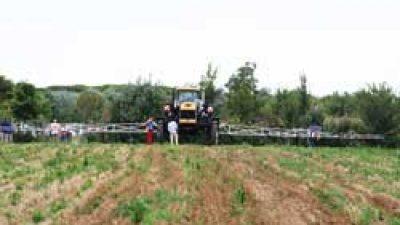 AGRICOLTURA CONSERVATIVA: GIORNATA DIMOSTRATIVA A VALLEVECCHIA (CAORLE-VE)