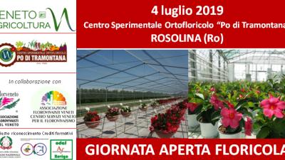 """Giornata aperta floricola – Centro """"Po di Tramontana"""" – Rosolina (RO)"""