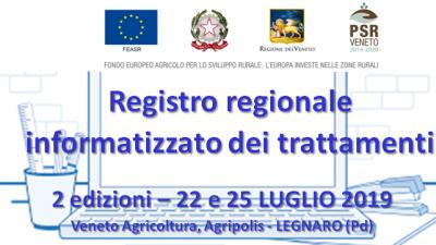 Registro regionale informatizzato dei trattamenti