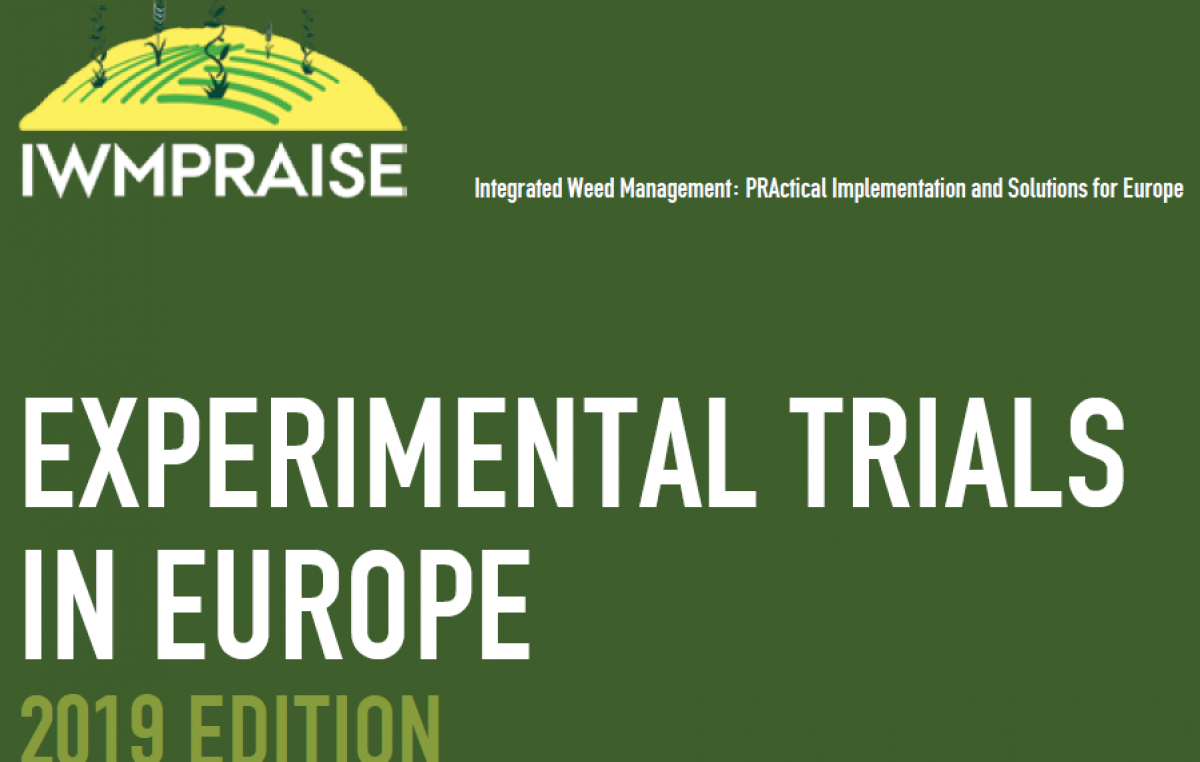 Experimental trials in Europe – 2019 edition