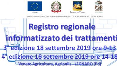 Registro regionale informatizzato dei trattamenti  – 3° e 4° edizione