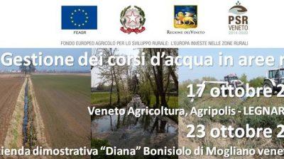 """Corso """"Gestione dei corsi d'acqua in aree rurali"""""""