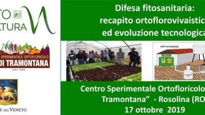 Difesa fitosanitaria: recapito ortoflorovivaistico ed evoluzione tecnologica