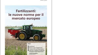 Fertilizzanti: le nuove norme per il mercato europeo