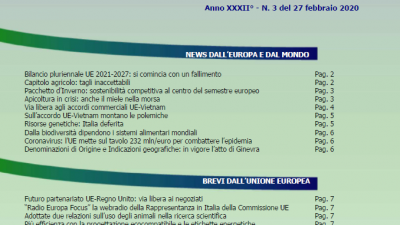 VENETO AGRICOLTURA EUROPA N. 03/2020