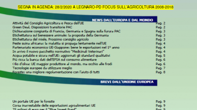 VENETO AGRICOLTURA EUROPA N. 02/2020