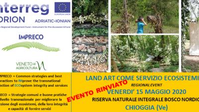 Land Art come servizio ecosistemico – RINVIATO