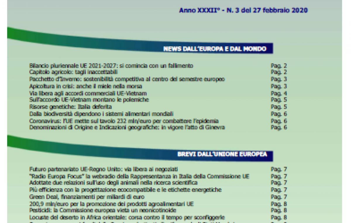 VENETO AGRICOLTURA EUROPA N. 04/2020