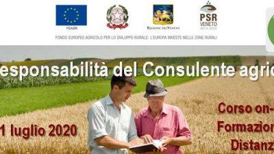 La responsabilità del Consulente agricolo