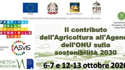 Il contributo dell'Agricoltura all'Agenda dell'ONU sulla sostenibilità 2030