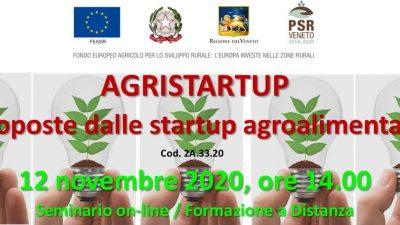 L'INNOVAZIONE CHE ARRIVA DALLA TERRA: ECCO AGRISTARTUP 2020