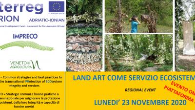 LAND ART COME SERVIZIO ECOSISTEMICO