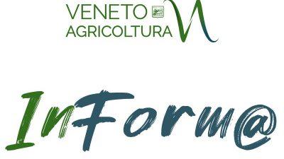 Newsletter Veneto Agricoltura Inform@ n°20/2020 del 21 dicembre 2020