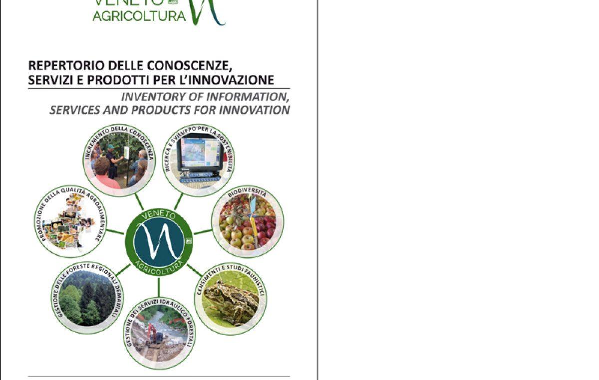 Repertorio delle conoscenze, servizi e prodotti per l'innovazione – Appendice all'edizione 2019