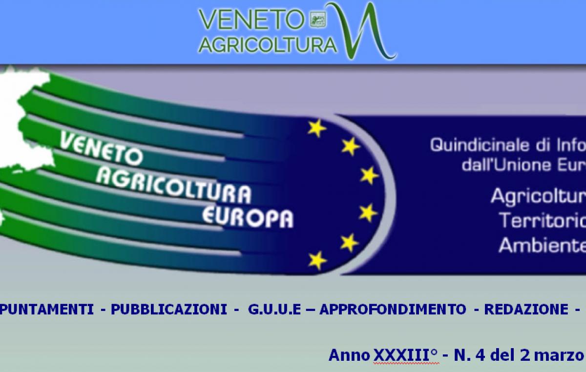 Veneto Agricoltura Europa n. 4/2021 del 2 marzo