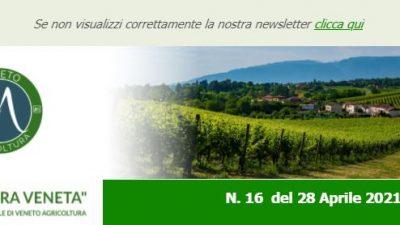 Agricoltura Veneta n. 16 del 28.04.2021