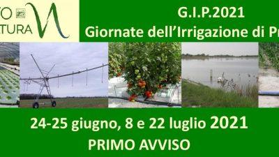 G.I.P. 2021 – Giornate dell'Irrigazione di Precisione