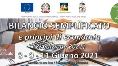 BILANCIO SEMPLIFICATO e principi di economia (2° edizione 2021)