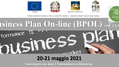 Business Plan On-Line (BPOL) –  Edizione 2021