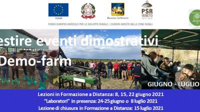 Gestire eventi dimostrativi e Demo-farm