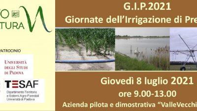 G.I.P.2021 – Giornate dell'Irrigazione di Precisione: colture estensive
