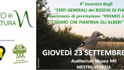 Stati generali boschi di pianura e Premio J.Giono