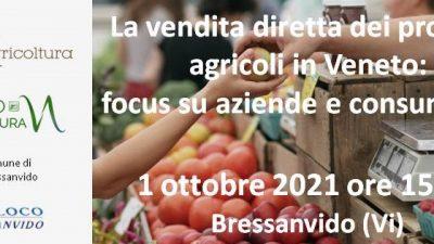 La vendita diretta dei prodotti agricoli in Veneto:  focus su aziende e consumatori