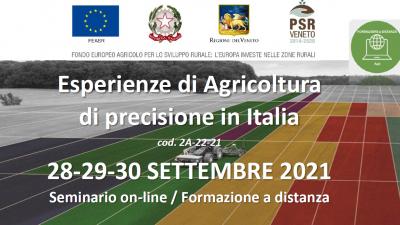 Esperienze di Agricoltura di precisione in Italia
